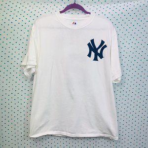 New York Yankees Jeter #2 MLB Shirsey T-Shirt